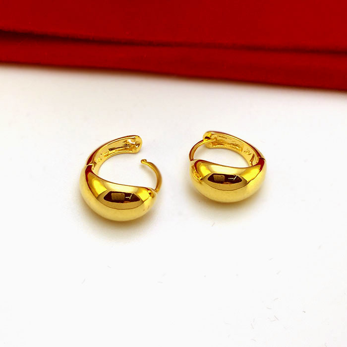 New Arrival Simple Design Hoop Earring 8*8 mm High Quality Fashion ...