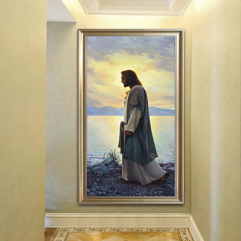 Home Interior Jesus: Jesus Christ Print Painting Poster And Print Portrait Wall