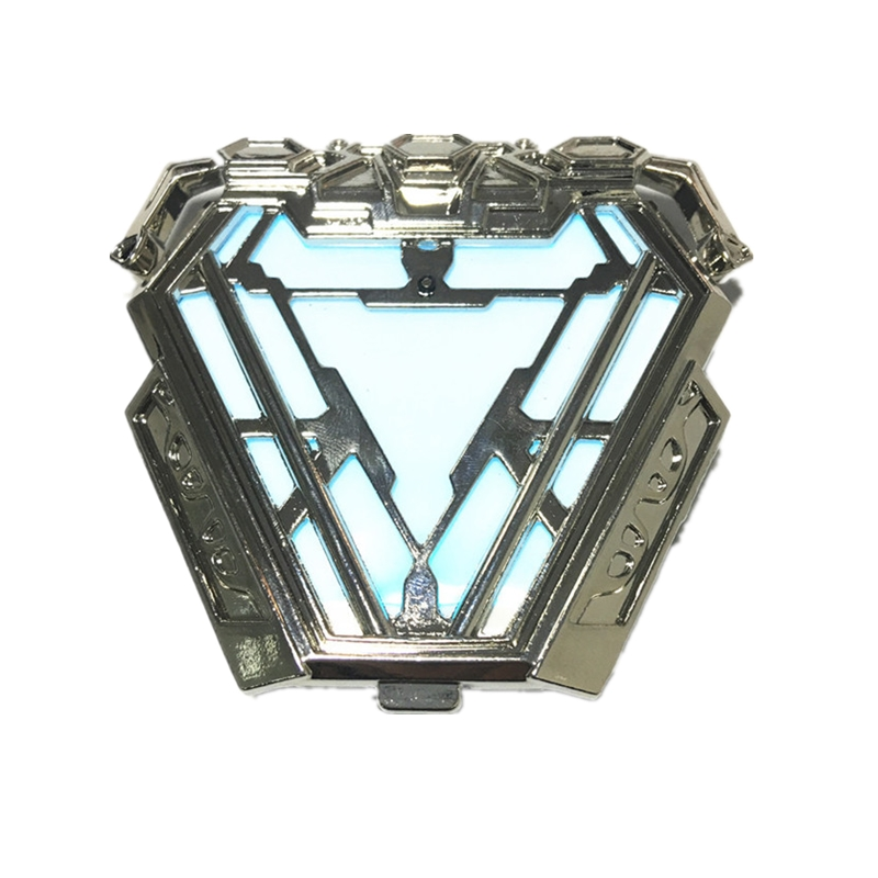 1 1 Scale Iron Man ARC REACTOR MK50 With LED Light Nano Suit Armor Wearable Movie