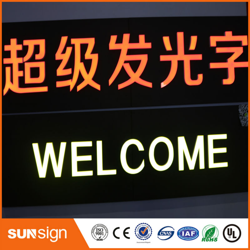 Custom Sign Aliexpress Sign Ship Make LED Acrylic Letters For Store