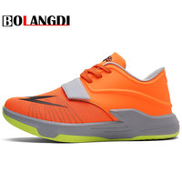 BOLANGDI New Arrival Men Running Shoes Spring Outdoor Sports Trainers Athletic Sneakers Breathable Mesh Male Shoes