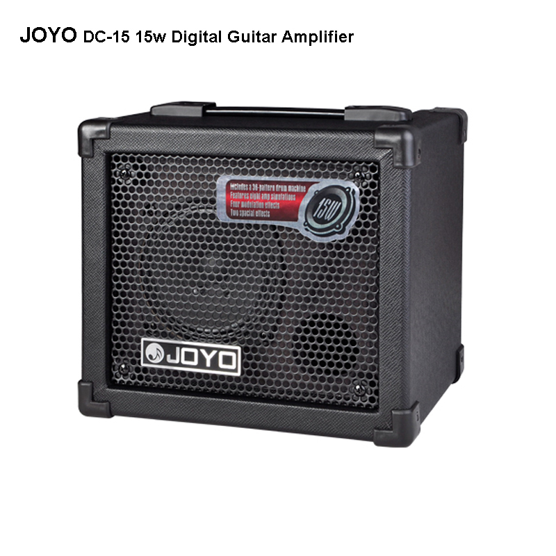 JOYO DC-15 15W Digital Guitar Amplifier Features eight amp simulations Four modulation effects Two spacial effects dely reverb adjustable bass treble two divider hifi module game pwm modulation digital amplifier for speaker audio crossover repair parts