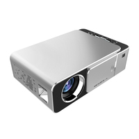 T6 3500 Lumens HD Portable LED Projector 1280*720 Native Resolution 720P HD Video Projector USB VGA HDMI Beamer for Home Cinema