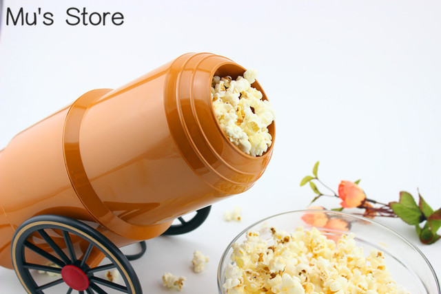 FREE SHIP!Electric 220V/110V Household HOT AIR Cannons Popcorn Machine, Retro Popcorn Maker, Pipoca, CE Certification