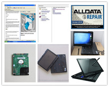 2017 installed version auto repair software alldata 10.53 mitchell on demand with laptop x200t hdd 1tb car &truck diagnostic pc(China (Mainland))