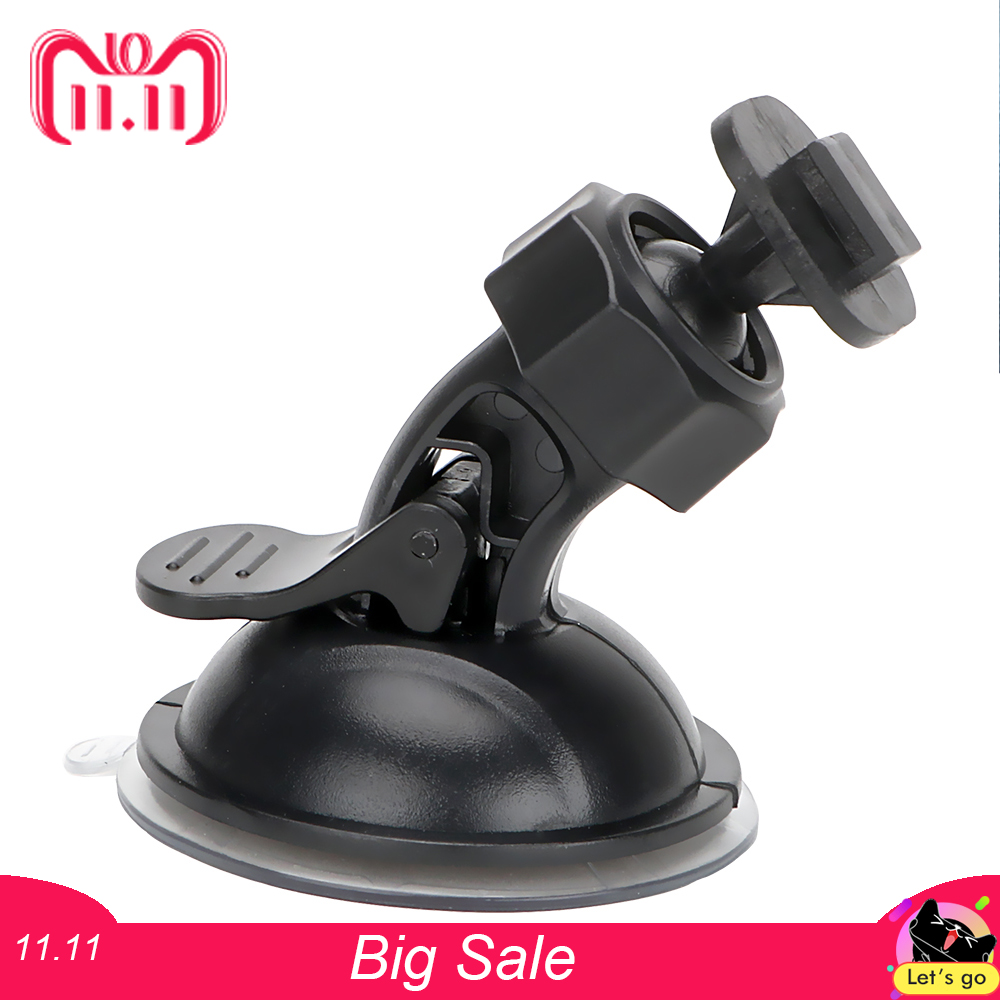 360 Degree Rotating Car Holder Car Driving Recorder Bracket Sport DV Camera Mount for Xiaomi YI GoPro DVR Holder 1pcs car rearview mirror dvr driving video recorder mount holder for xiaomi yi dash cam registrator bracket for yi camera dvrs