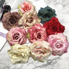 More than 10 PCS/(8 cm) artificial color roses first wedding decoration/DIY wreath arch collage flowers
