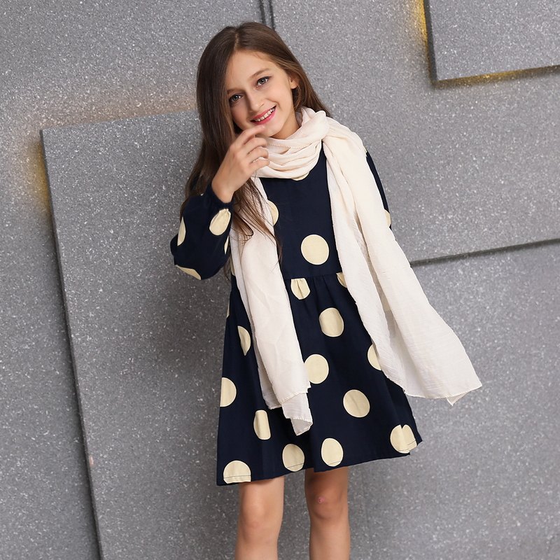 girl dress 2016 picture more detailed picture about autumn dress girl scarf fall girls. Black Bedroom Furniture Sets. Home Design Ideas