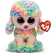 "Ty Vaias Gorro 6 ""15 centímetros Rainbow o Poodle Coruja Aranha Leopard Unicorn Plush Stuffed Animal Collectible Macia Grande olhos Boneca de Brinquedo(China)"