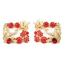 Shoe Clip Chinese Dragon Phoenix Rhinestone Glitter Exquisite Luxury Clips Lady Wedding Bride High Heel Decoration Buckle