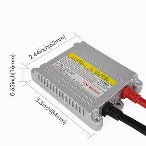 Image 3 - Safego 2X hid xenon dünne drossel 12 v 35 watt blöcke zündgerät reaktor ballastro xenon hid ballast ersatz H4 H7 H3 H11 scheinwerfer