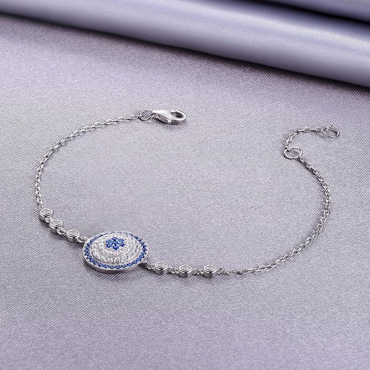 S-new s925 bracelet en argent sterling élégant exquis-amour boussole bracelet en argent collier pendentif cadeau