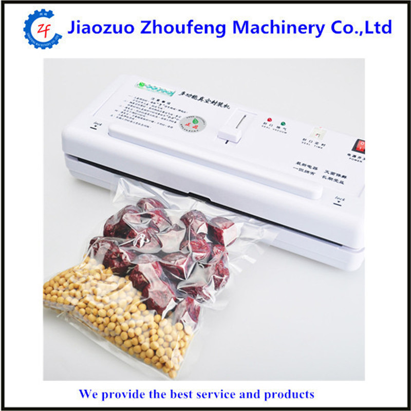 220v home use food preservation vacuum sealing machine vacuum food sealer for kitchen tool  ZF
