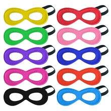 Special Plain Superhero Masks For Boys Girls Cosplay Mask Halloween Party Eye Kids Birthday