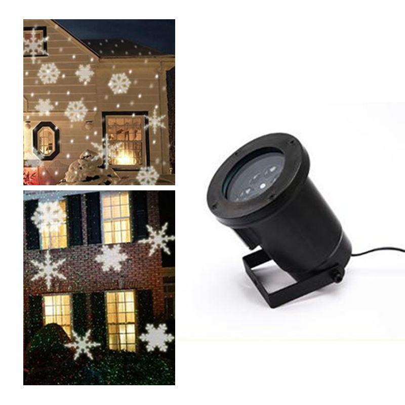 NEW Projector Christmas Lights Waterproof Rotating Outdoor Projection LED Lights for Garden, Home Decoration 110V/220V