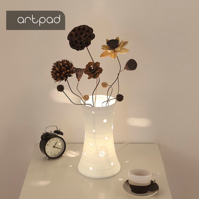 Artpad Nordic Simple Under Table Lighting for Weddings Decorate DIY Flower Arrangement Warm and Romantic Bedroom Bedside Light цена