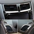 6 шт./компл.  новый дизайн  ABS хром  внутренняя воздушная розетка  декоративное кольцо для Hyundai Solaris Verna accent sedan hatchback 2011-2015