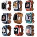 9 cores genuine leather cuff pulseira band para apple watch série 2 alça de pulso para apple watch de primeiro e segundo iwatch pulseira