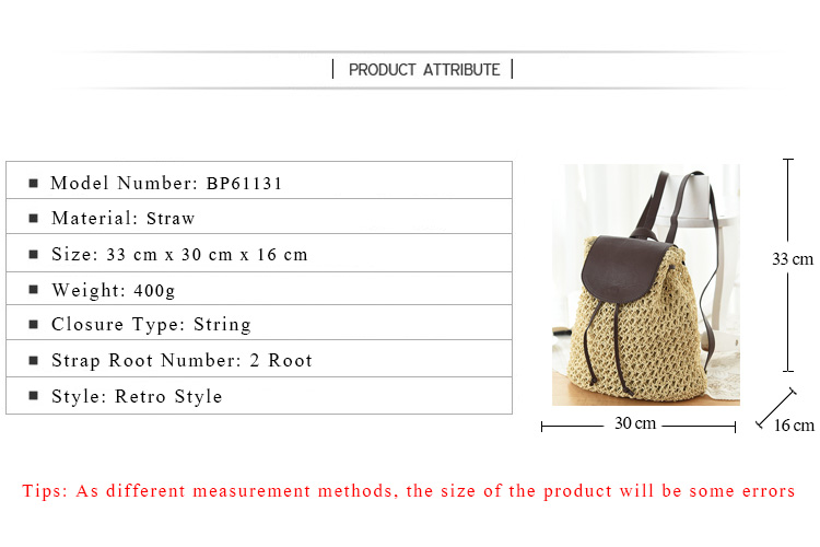 ΞRU & BR verano bolsa de paja crochet playa japonesa tejer mujeres ...