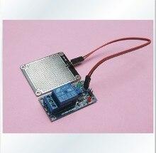 100pcs/lot DC 12V Rain Weather Module Raindrops Detection Sensor Moduel Humidity For Arduino