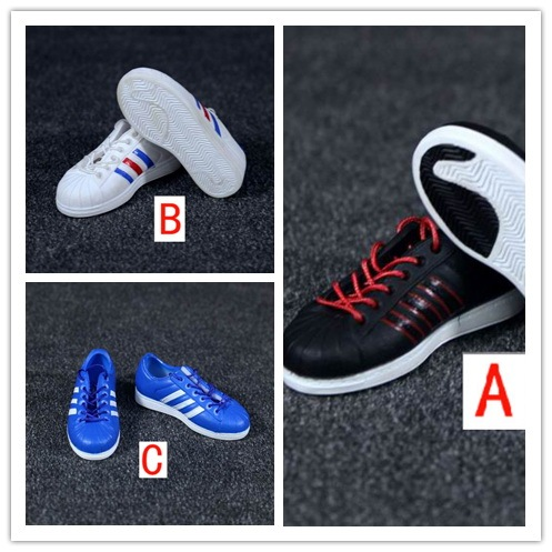 """1/6 figure doll shoes for 12"""" Action figure doll accessories man figure sports shoes.not include doll and accessories 2642"""