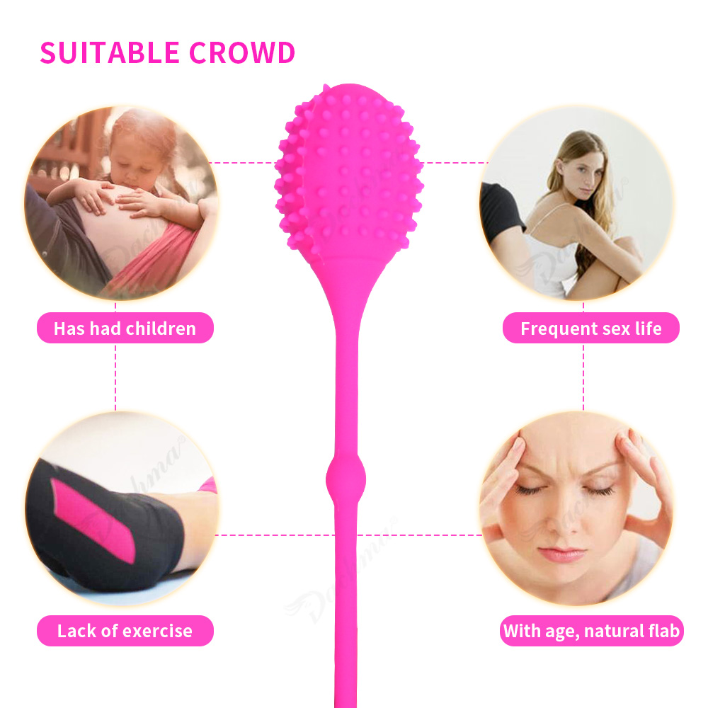 Kegel Balls Ben Wa Balls Trainer Exerciser Dilat Tight Vaginal Pussy Balls Encolher Vibrator Masage Adult Sex Toy For Women in Vibrators from Beauty Health