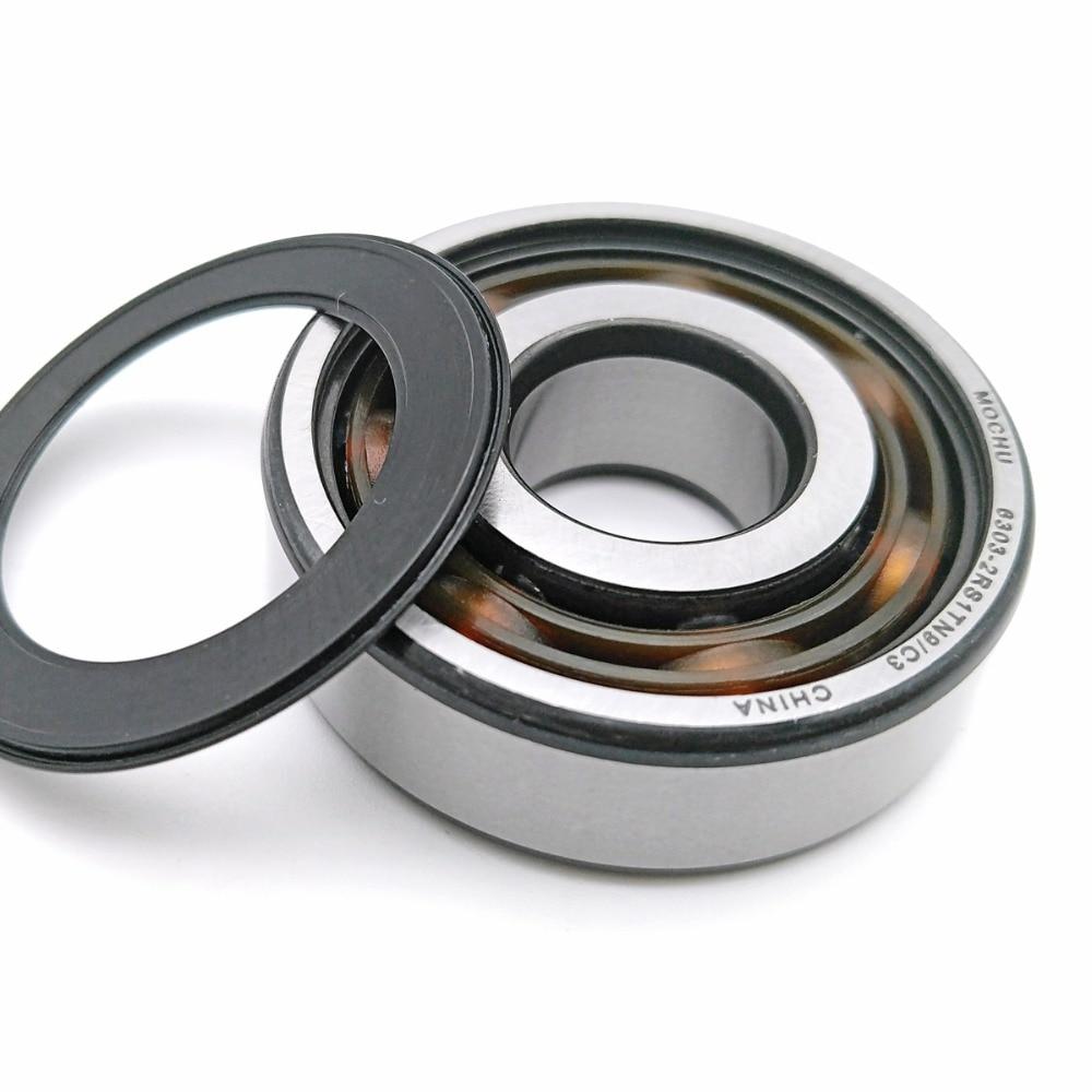 1pcs Bearing 6303 6303TN9/C3 6303-2RS1TN9/C3 17x47x14 MOCHU Shielded Deep Groove Ball Bearings Single Row High Quality