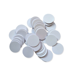 Image 2 - 5pcs RFID Nfc Tag Changeable UID 1k Stickers with Block 0 Mutable Writable for S50 Mf1 13.56Mhz Nfc Card Clone Crack Hack