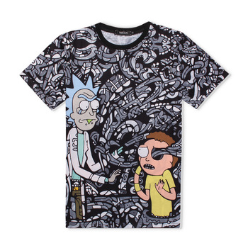 Rick and Morty Abstract Tee