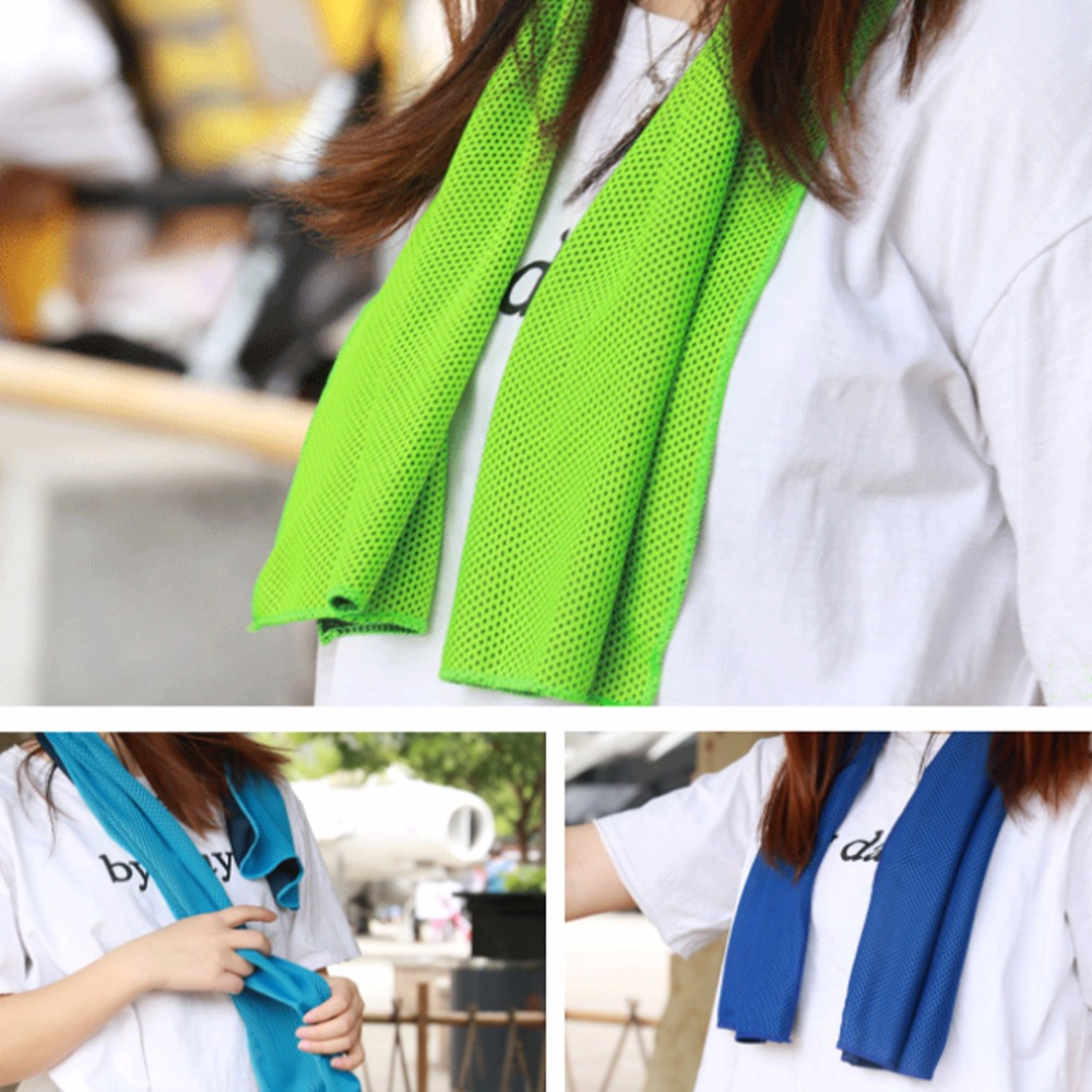 Instant Cool Towel Wristband Bandana Scarf Sport Travel Camping Outdoor Exercise Speed Dry Headband Towel