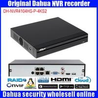 Dahua Original DHI NVR4104HS P 4KS2 IP Network Video Recorder HD H 2 65 4ch Connected