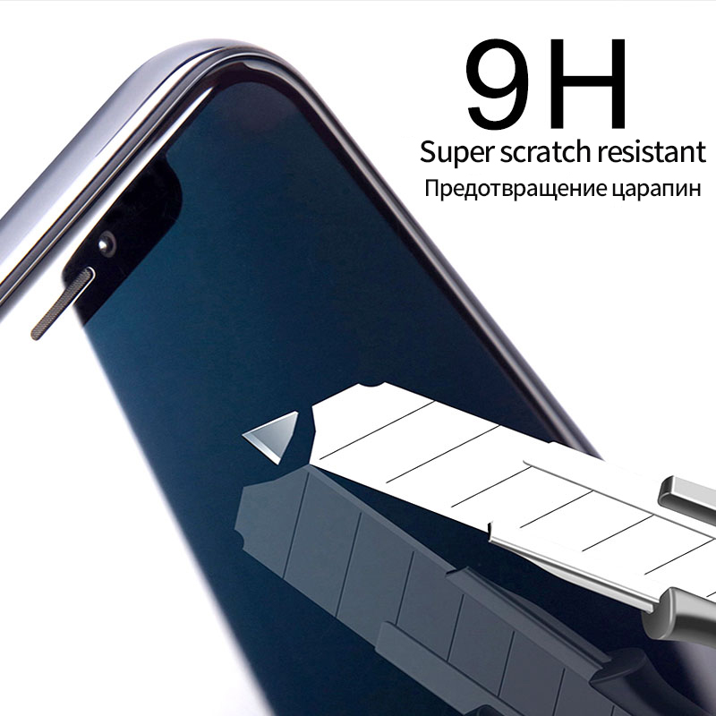 Suntaiho 10D Tempered Glass for iPhone XR XS Max X  Full Curved Anti-Explosion Screen Protector film for iPhone 8 7 6S 6 Plus