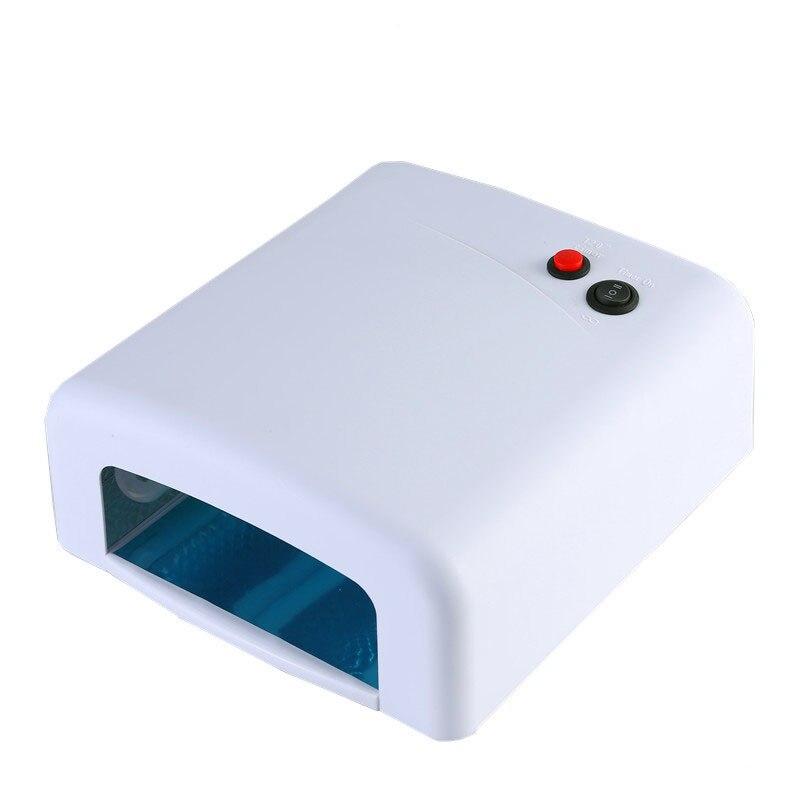 Séchoir à ongles CONDUIT Lampe UV 36 W Gel Nail Machine Sèche Vernis À Ongles Outil Protection Lampe Pour Manucure 110 V-220 V UE et US Plug