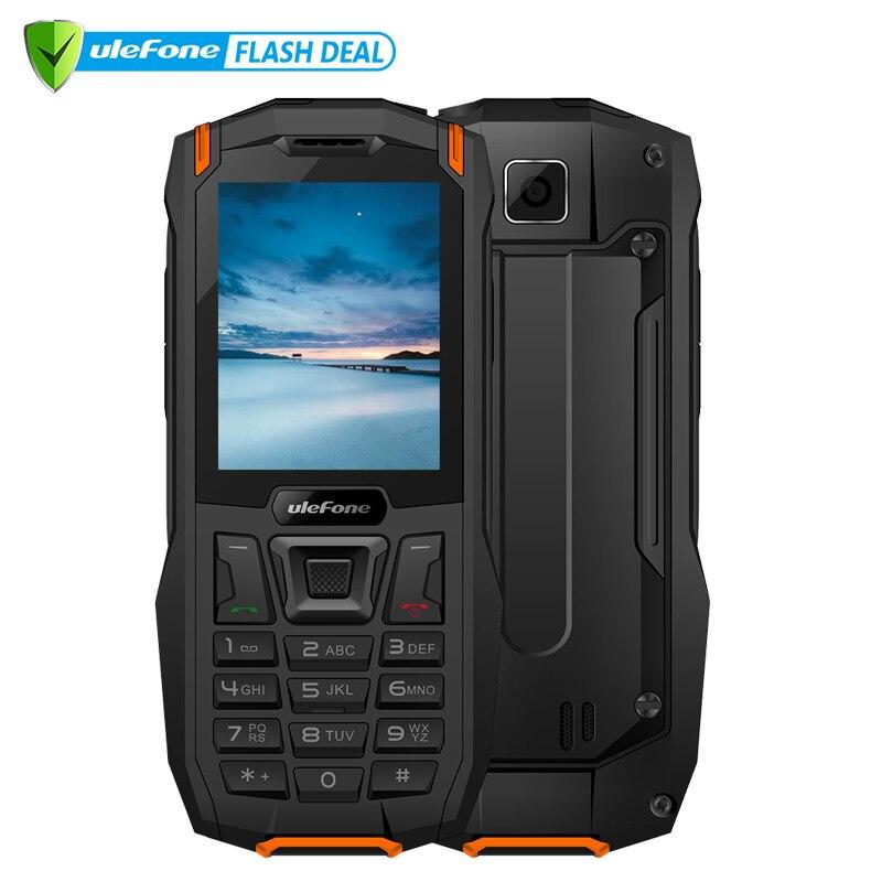 Ulefone Armor mini Водонепроницаемый телефон IP68 2.4  MTK6261D Беспроводной телефон FM радио 2500 мАч 0.3MP Двойная SIM карта телефон