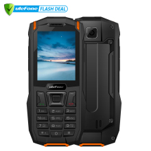 "Ulefone Armor Mini étanche IP68 Outdoor Adventures Téléphone 2.4 ""MTK6261D Radio FM sans fil 2500mAh 0.3MP Double SIM Rugged Phone"
