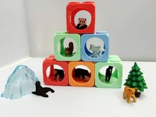 small animal models Sets in zoo figure holiday gift Set