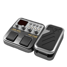 NUX MG-100 MG100 Modeling Guitar Processor Guitar Effect Pedal Drum Tuner Recorder Multi-function With Guitar Modeling Processor стоимость