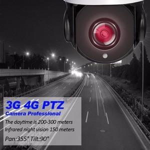 Image 3 - 3G 4G 1080P WIFI IP CCTV Security Camera Outdoor Wireless PTZ Speed Dome Surveillance IP Camera 22X Optical Zoom SIM SD Card Cam