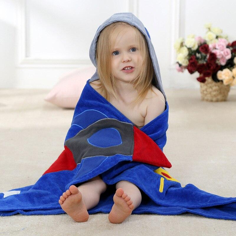 children bathrobes new pure cotton towels cartoon fashion baby bath towel f