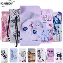 Flip Case for Apple iPhone 6S 6 PU Leather Soft Silicon Wallet On Cover for iPhone 6 Plus iPhone 7 8 Plus iPhone X Case Coque