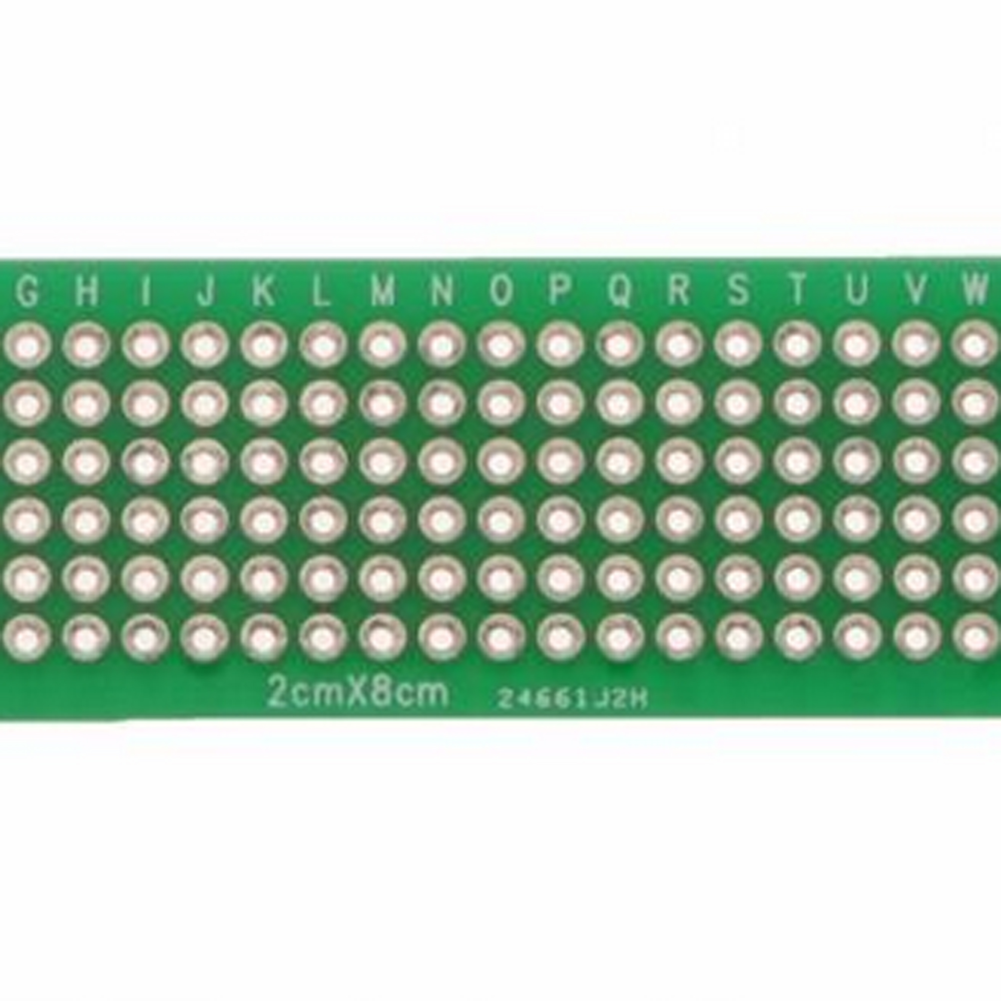 20pcs Prototype Pcb Bread Board Tinned Universal 2x8 Cm Fr4 New Glass Fiber Circuit Boards Caring Double Side