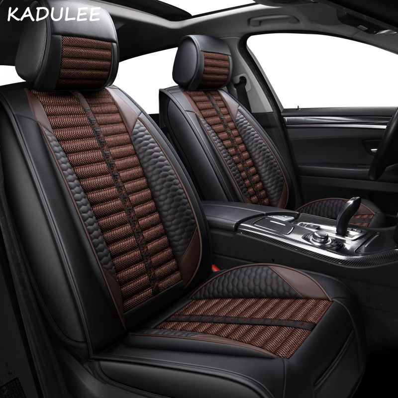 KADULEE car seat cover for <font><b>audi</b></font> a3 8p 8v sedan <font><b>sportback</b></font> a4 b5 b6 b7 b8 <font><b>a5</b></font> of <font><b>2010</b></font> 2009 2008 2007 Automobiles Seat Covers image