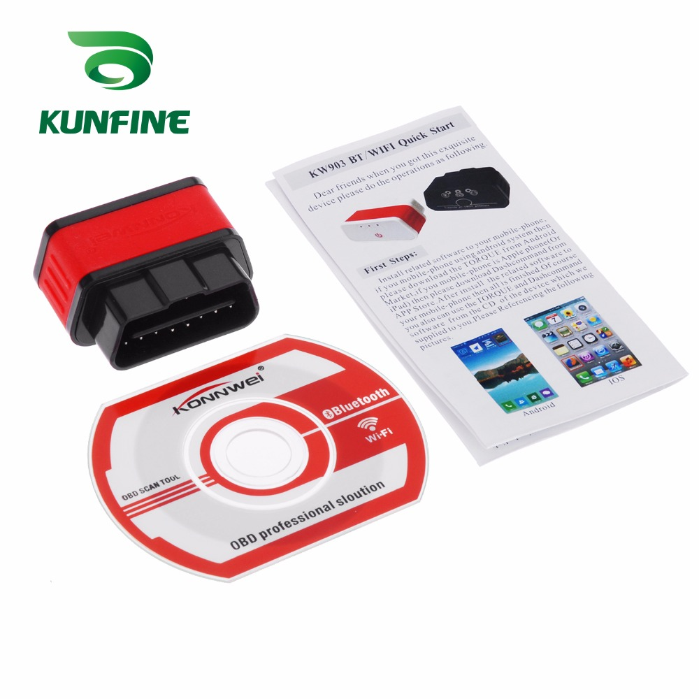 Auto Diagnostic Tool Car engine code Scanner Vehicle fault reader KF-A1189_8225