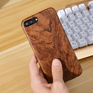 Image 3 - For Apple iPhone 6 6s Plus /7 /8 Plus SE2 2020 walnut Enony Real Wood Rosewood Wenge Apricot MAHOGANY Wooden Back Case Cover