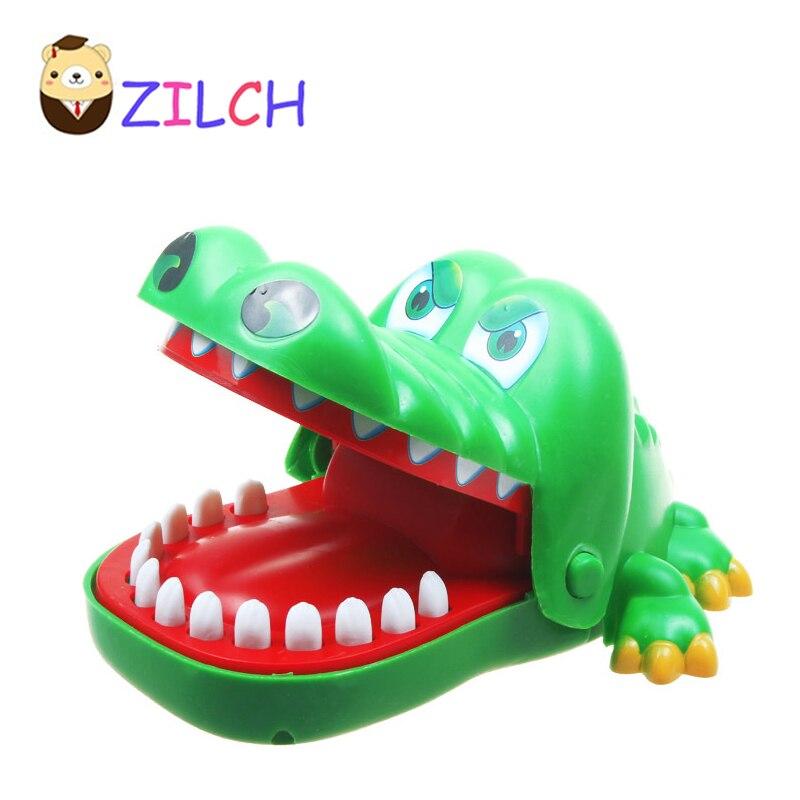 Большой Размеры Семья игра Крокодил Стоматолог Рот кусать локти вызов игрушка игры так смешно удивительный подарок для детей ...