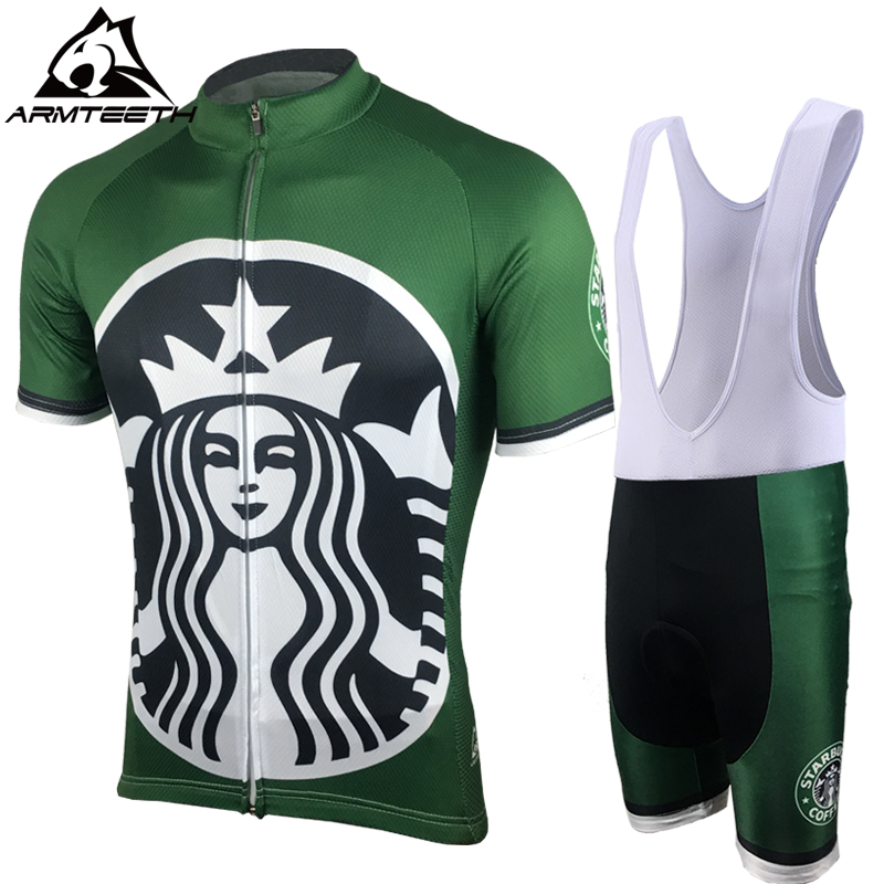 2017 Hot Sale Pro Men Cycling Jersey <font><b>Set</b></font> Breathable MTB Clothes Quick Dry Bicycle Summer Sportswear Bike Jerseys Ropa Ciclismo