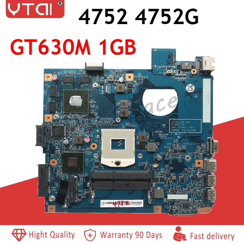 4752 Motherboard 48.4IQ01.041 For Acer 4752 4752G Laptop Motherboard MBRUU01001 10267-4 HM65 GT630M/1GB MB 100% Tested Fast Ship4752 Motherboard 48.4IQ01.041 For Acer 4752 4752G Laptop Motherboard MBRUU01001 10267-4 HM65 GT630M/1GB MB 100% Tested Fast Ship