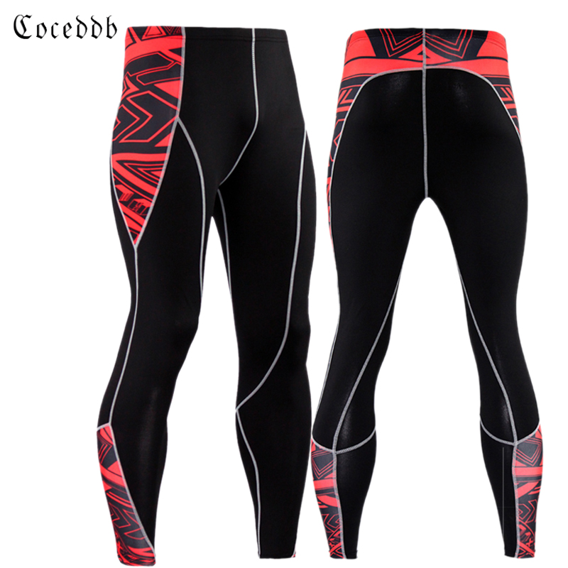 2017 Camouflage Pants Men Fitness Mens Joggers Compression Pants Male Trousers Bodybuilding Tights Leggings S-XXXL