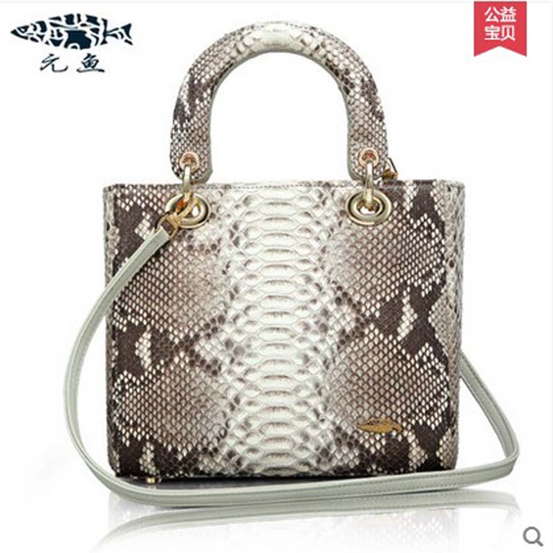 yuanyu 2018 new hot free shipping real Snake skin women handbag wrist bag women handbag fashion women bag yuanyu 2018 new hot free shipping real thai crocodile women handbag female bag lady one shoulder women bag female bag