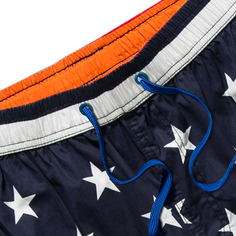 Mother & Kids Raise Trust New Summer Casual Mens Beach Shorts Fashion Print Striped Stars Streetwear Short Pants Swimwear Board Shorts Orders Are Welcome.